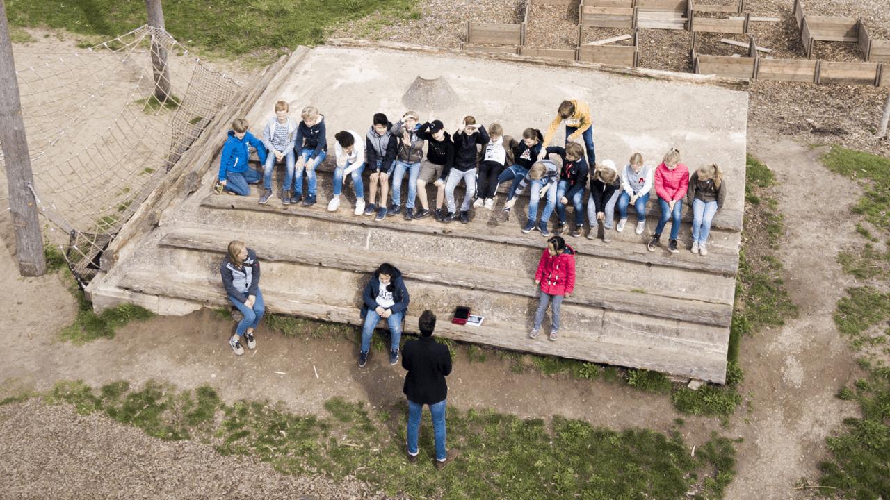 Kinderen Onderwijs bij GeoFort educatief schoolreisje leren door te beleven